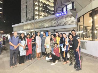 C4D students visits Maharashtra Legislature